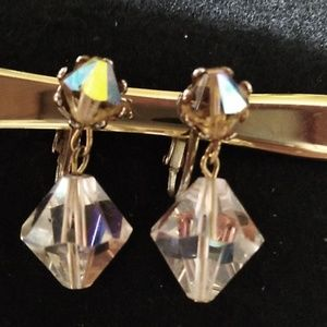 Vintage Crystal earrings